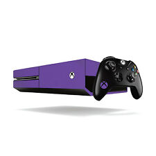 Xbox One Colorido Vinilo Wrap: Mate Violeta / Xbox One Skin Adhesivo cubierta Wit...