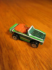 VINTAGE MICRO MACHINES GREEN '68 CAMARO CONVERTIBLE GALOOB 1989