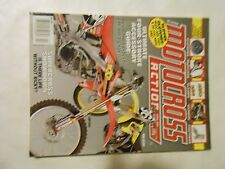 APRIL 2004 MOTOCROSS ACTION MAGAZINE,SUPERCROSS SHOWDOWN,150 TRICK PARTS,AMA