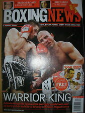 BOXING NEWS 1 AUGUST 2008 ANTONIO MARGARITO DEFEATS MIGUEL COTTO