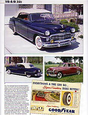 1949 DeSoto Custom + Convertible + Woody Station Wagon Article - Must See !!