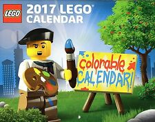 2017 Lego Colorable Calendar 5005260 NEW sealed