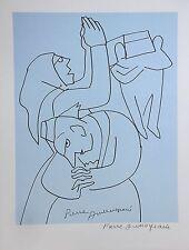 Les Peintres Témoins de leur Temps - Pierre AMBROGIANI - Estampe signée - 1966