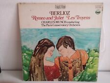 BERLIOZ Romeo and Juliet / Les troyens CHARLES MUNCH Paris conservatory orchestr
