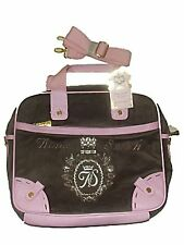 LOVELY NEW LADIES / GIRLS ANNA SMITH BROWN / PINK HANDBAG OVERBODY MESSENGER BAG