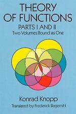 Theory of Functions, Parts I and II Dover Books on Mathematics) Pts. 1 & 2)