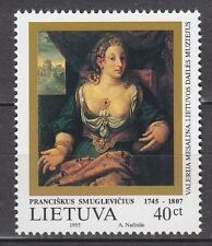 LITHUANIA  1995 **MNH SC#  523  Painting - Valerie Mesalina - by P.Smuglevicius