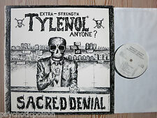 SACRED DENIAL - Extra - Strengh TYLENOL Anyone ? LP USA