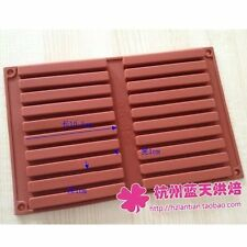 Strip Shape Silicone Cake Cookie Mold Handmade Soap Resin Mould New