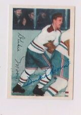 2001 Parkhurst Dickie Moore Montreal Canadiens Autographed Card #120