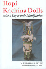 Hopi Kachina Dolls With a Key to Their Identification Harold S. Colton Book