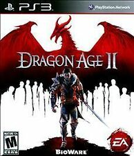 Dragon Age II 2 GAME Sony PlayStation 3 PS PS3 DA2 DAII