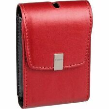 Canon PSC-1050 Red Leather Case for canon Powershot SD780/SD1400/SD 940IS Camera
