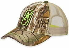 Browning Conway Cap,Mesh,Realtree Xtra/Lime Green