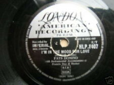 FATS DOMINO 78 TOURS UK I'M IN THE MOOD FOR LOVE