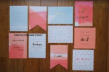 Kikki K BE BRAVE vision board inspiration kit NEW