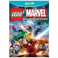 LEGO MARVEL SUPER HEROES WII U! IRON MAN, CAPTAIN AMERICA AVENGERS SPIDERMAN