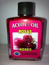 MYSTICAL / SPIRITUAL OIL ACEITE FOR SPELLS & ANOINTING 1/2 OZ ROSE ROSES (ROSAS)