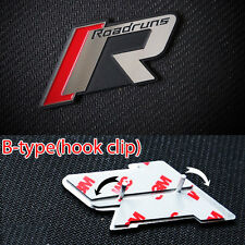 Grill R-Tune Emblem Aluminum Badge B-type Hook Clip For 09 12 Kia Forte Koup