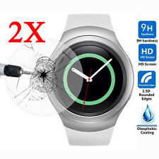 2*Tempered Glass Screen Protector Shield Saver Film For Samsung Gear S2/Classic/