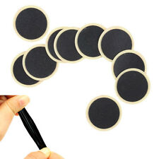 Round Rubber Patch Bicycle Bike Tire Tyre Puncture Repair Piece Patch Kits EFC