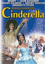 Rodgers & Hammerstein's Cinderella Whitney Houston [G / DVD] BRAND NEW