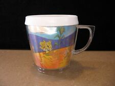 Vintage 1960's Lenticular / Thermo Jolly Green Giant Mug Cup