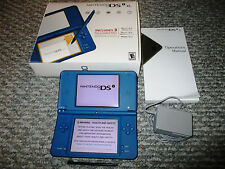 Nintendo DSi XL Midnight Blue System in Box w/Charger FREE Shipping!