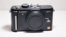 Panasonic LUMIX DMC-GF1 12.1MP Digital Camera  - BLACK Body  +battery+ charger