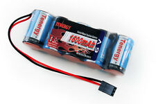 Tenergy 5 CELL 6V 1600mAh NiMH FLAT Receiver Battery Pack 1/10 1/8 Scale