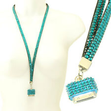 Rhinestone Crystal Bling Ice Lanyard Necklace iPhone 3 3GS 4 4S & iPod Holder