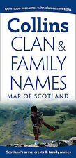 Clan and Family Names Map of Scotland (Pictorial Map) (Pictorial Maps)
