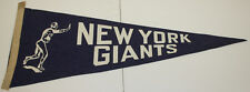 1930's Vintage New York Giants Pennant Excellent Condition Very Rare