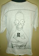 Vintage THE SIMPSONS TV Show Homer Simpson Couch Potato1994 T shirt Large