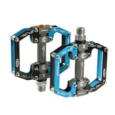 ROCKBROS Bike Bicycle Pedals Cycling Sealed Bearing Pedals Blue