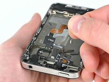 Smartphone Home Button Reparatur Austausch ORIGINAL Appel iPhone 4 Schwarz