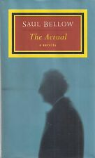 "SAUL BELLOW ""The Actual"" (1997) SIGNED First Printing FINE Condition Hardcover"