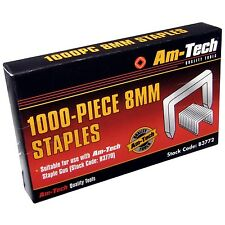 1000pc 8mm Staples Tacker Gun Upholstery School Use Office Staples High Quality!