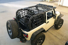 Heavy Duty Black Cargo Net Jeep Wrangler JK 2007-16 2 Door 13552.70