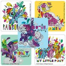 "20 My Little Pony Glitter Stickers, 2.5""x2.5"" ea., Party Favors"