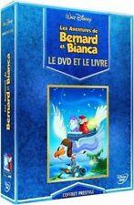 BERNARD ET BIANCA DISNEY COFFRET PRESTIGE DVD + LIVRE NEUF