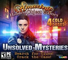 Legacy Games Unsolved Mysteries: Amazing Hidden Object Games (4 Game Pack) (PC)