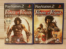 Prince of Persia The Two Thrones/ Warrior Within PS2 Playstation 2 Game Bundle