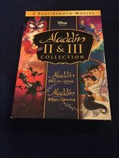DISNEY ALADDIN II & III COLLECTION DVD