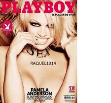 PLAYBOY MEXICO PAMELA ANDERSON FEBRUARY-FEBRERO 2016 PLAYBOY MEXICAN EDITION NEW