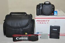 Canon EOS Rebel XSi 12.2 MP - Black -(Body Only)+ Extras, Low Shutter Count 7600