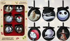 2016 The Nightmare Before Christmas Sketchbook Ornament Set Disney Store