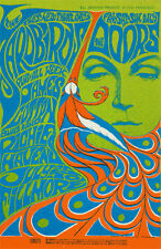 Yardbirds POSTER Doors James Cotton Richie Havens Fillmore BG75-5 Bonnie MacLean