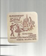 SOTTOBICCHIERE BEER COASTER MATS BIERDECKEL 256 bier aus schlitz