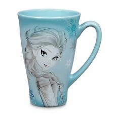 NEW DISNEY STORE ORIGINAL ELSA FROZEN SKETCH MUG LATTE COFFEE TEA CUP